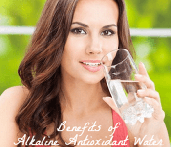 alkaline ionized water